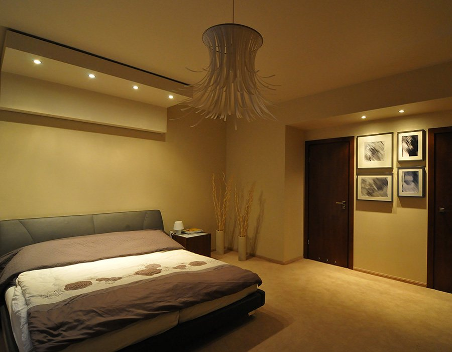 Zrealizowany projekt sypialni